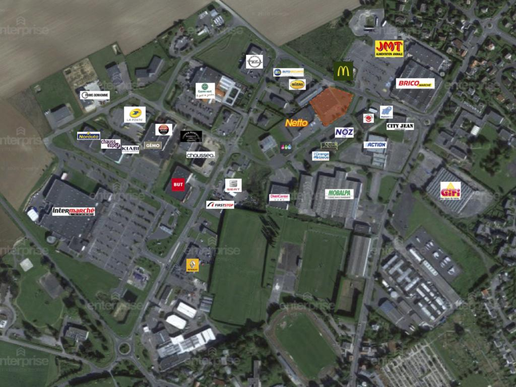 Location Local commercial PÉRONNE  485