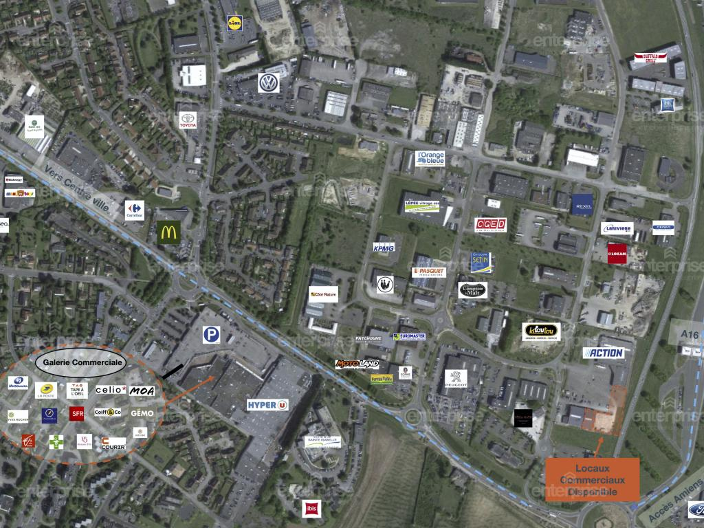 Location Local commercial ABBEVILLE  10 850