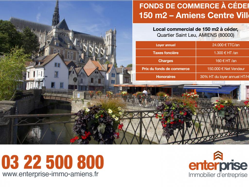 Location Local commercial AMIENS  823