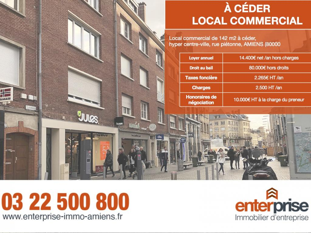Location Local commercial AMIENS  721